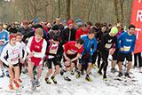 Griesheimer Silvesterlauf 2014, Start 5 Km