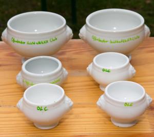 Siegerpreise: Suppenschüsseln