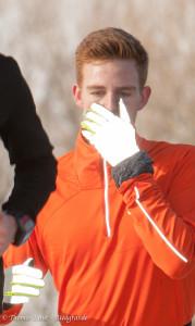 neue Moden: leuchtende Handschuhe