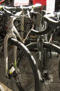 Rennrad mit Scheibenbremse