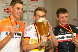Ein Bierchen für den Sieger