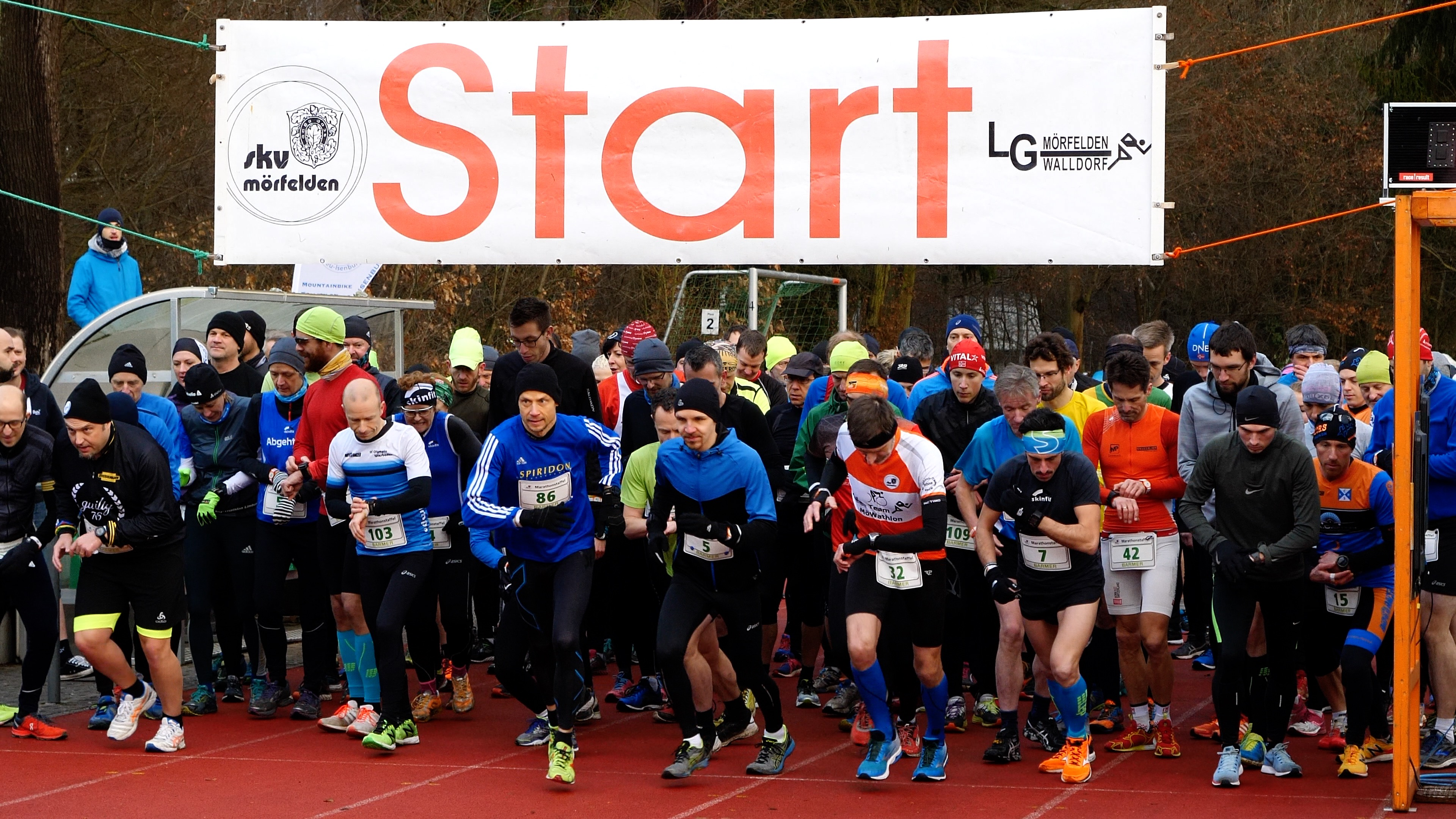 Marathonstaffel Mörfelden 2018